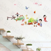 [Childhood] Decorative Wall Stickers Appliques Decals Wall Decor Home Decor