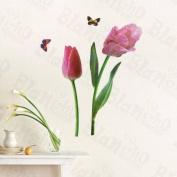 [Floral Partner] Decorative Wall Stickers Appliques Decals Wall Decor Home Decor