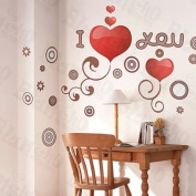 [Show Love] Decorative Wall Stickers Appliques Decals Wall Decor Home Decor