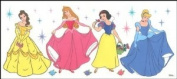 Blue Mountain Wallcoverings 83000890 Disney Princess Large Paint Decal
