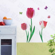 Romantic Flowers - Wall Decals Stickers Appliques Home Decor