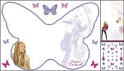 Blue Mountain Wallcoverings GAPP1835 Hannah Montana Whiteboard Kit with Locker Pen