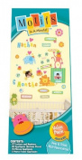 Motifs In A Minute Peel and Stick Value Pack Wall Decor Appliqués Jungle Animals