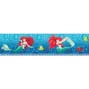 Blue Mountain Wallcoverings DS129913 Ariel Reflections Self-Stick Wall Border, 12.7cm by 4.57m