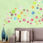[Full Of Flowers] Decorative Wall Stickers Appliques Decals Wall Decor Home Decor