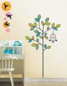 Jiniy POEM & TREE Kids Wall Decals Deco Mural Sticker