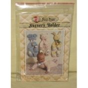 1980 Patch Press - Nursery Holder - Wall Hanging Baby Item Holder Pattern - No. 340B