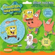 Brewster 515-NK2214C Sponge Bob Cutouts by Nickelodeon