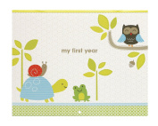 Carter's First Year Calendar, Stickers Provided, Measures 28cm x 46cm - Woodland