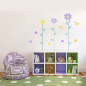 GiggleDots Sweets Stick Em Up Flower Power Wall Decal