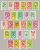 Lucy Darling Shop Nursery Art Print - Flag Bunting