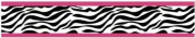 Funky Zebra Baby, Kids and Teens Wall Paper Border by Sweet Jojo Designs