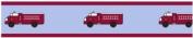 Frankie's Firetruck Baby and Kids Wall Border by Sweet Jojo Designs