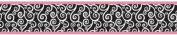 Pink and Black Madison Baby and Kids Wall Paper Border by Sweet Jojo Designs