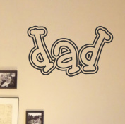dad vinyl Wall Decals Quotes Sayings Words Art Decor Lettering vinyl wall art inspirational uplifting