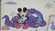 Mickey Mouse and Dinosaur Wall Decor Stickers Jumbo Stick-ups