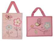 Living Textiles Baby 2 Pc Canvas Art Set - Little Bria