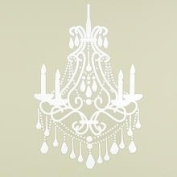Little Boutique Wall Decal - White Chandelier