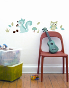 Forest Boy Wall Decal Sticker