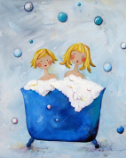 Cici Art Factory Wall Art, Double Bubble Blonde, Small