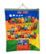 Edu-Petit My Finger Puppet ABC Chart with Soft Book Toy