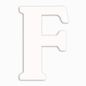 Munch Oversized White Wood Letters, F