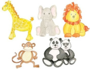 Baby Stuffed Animal Wall Decals- Peel & Stick Removable Nursery Room Decor Stickers