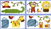 CLOSEOUT Cocalo Baby Jungle Jingle Wall Decals