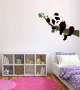 Panda Baby Sleeping on Branch Wall Decal Sticker Graphic By LKS Trading Post