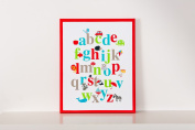 Forwalls Alphabet Wall Canvas