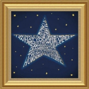 Barewalls Wall Decor by L.A. Pop Art, Twinkle Twinkle Little Star