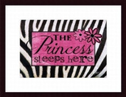 Barewalls Wall Decor, Princess Sleeps Here