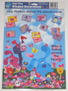 Blue's Clues Static Cling Window Decorations Clings