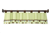 Little Bedding by NoJo - Jungle Pals Window Valance
