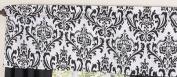 Black and White Isabella Girls Window Valance by Sweet Jojo Designs