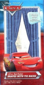 Disney Pixar Cars Window Drapes with Tie Backs 160cm x 106.7cm