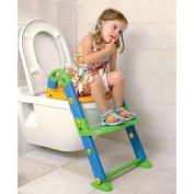 Kids Kit 3In1 Toilet Trainer Steps-Potty-Toilet Seat