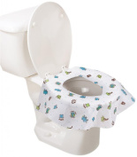 Summer Infant Keep Me Clean Disposable Potty Protectors, Green/White, 10 Count