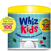 Colour My Bath Whiz Kids 100-Piece Potty Training Tablets
