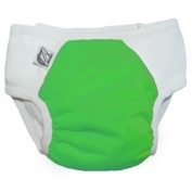 Super Undies Snap-On Training Pants, Fearsome Frog (Green), XXL
