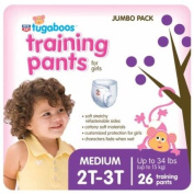 Rite Aid Tugaboos Training Pants for Girls, Jumbo Pack, M/2T-3T, up to 10.89kg+, 26 ea