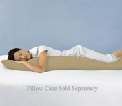 Down Alternative Body Pillow - Pregnancy and Maternity Full Length Double Zippered Body Pillow by Sweet Jojo Designs