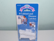 4 Cabinet Drawer Latches