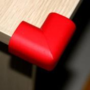 Ostart 8 Red Baby Furniture Corner Safety Bumper Security Table Desk Corner Edge Protector Guard Cushion Softener