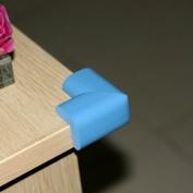 Ostart 8 Blue Baby Furniture Corner Safety Bumper Security Table Desk Corner Edge Protector Guard Cushion Softener