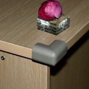 Ostart 8 Grey Baby Furniture Corner Safety Bumper Security Table Desk Corner Edge Protector Guard Cushion Softener