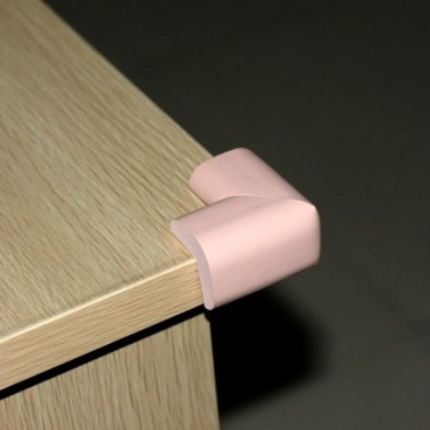 Ostart 8 Pink Baby Furniture Corner Safety Bumper Security Table Desk Corner Edge Protector Guard Cushion Softener