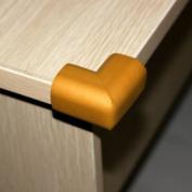 Ostart 8 Wood Colour Baby Furniture Corner Safety Bumper Security Table Desk Corner Edge Protector Guard Cushion Softener