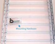 John Sterling 6Bar Basic Fixed Mt.Window Guard 22x58-193cm White
