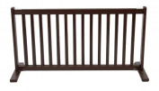 Free Standing Pet Gate - Large/Mahogany - 42200